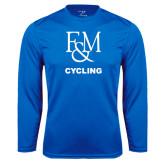 Syntrel Performance Royal Longsleeve Shirt-Franklin & Marshall Cycling