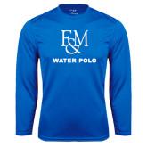Syntrel Performance Royal Longsleeve Shirt-Franklin & Marshall Water Polo