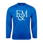 Syntrel Performance Royal Longsleeve Shirt-F&M