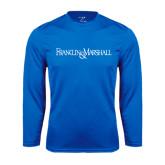 Syntrel Performance Royal Longsleeve Shirt-Franklin & Marshall