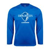 Syntrel Performance Royal Longsleeve Shirt-Lacrosse