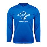 Syntrel Performance Royal Longsleeve Shirt-Volleyball