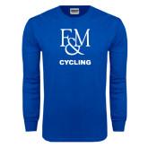 Royal Long Sleeve T Shirt-Franklin & Marshall Cycling