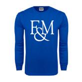 Royal Long Sleeve T Shirt-F&M