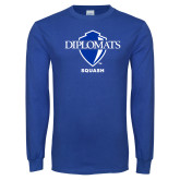 Royal Long Sleeve T Shirt-Squash