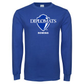Royal Long Sleeve T Shirt-Rowing