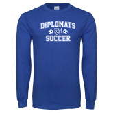Royal Long Sleeve T Shirt-Diplomats Soccer