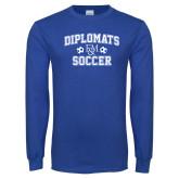 Royal Long Sleeve T Shirt-Diplomats Soccer