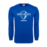 Royal Long Sleeve T Shirt-Squash