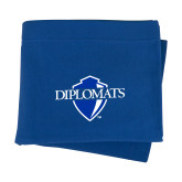 Royal Sweatshirt Blanket-Diplomats Official Logo