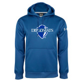 Under Armour Royal Performance Sweats Team Hood-Diplomats Official Logo