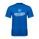 Syntrel Performance Royal Tee-Volleyball Can You Dig It