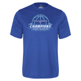 Syntrel Performance Royal Tee-2016 Centennial Conference Champions Mens Basketball