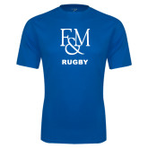 Syntrel Performance Royal Tee-Franklin & Marshall Rugby