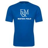 Syntrel Performance Royal Tee-Franklin & Marshall Water Polo