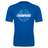 Syntrel Performance Royal Tee-2016-17 Centennial Conference Champions Mens Basketball