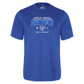 Syntrel Performance Royal Tee-2017 Centennial Conference Champions Mens Lacrosse