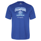 Syntrel Performance Royal Tee-2017 Centennial Conference Champions Mens Golf