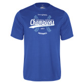 Syntrel Performance Royal Tee-2017 Centennial Conference Champions Softball