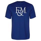 Syntrel Performance Royal Tee-F&M