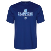 Syntrel Performance Royal Tee-2017 Football Champions