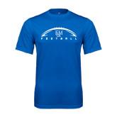 Syntrel Performance Royal Tee-Flat Football Design