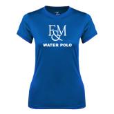 Ladies Syntrel Performance Royal Tee-Franklin & Marshall Water Polo