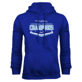 Royal Fleece Hoodie-2017 Centennial Conference Champions Softball