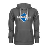 Adidas Climawarm Charcoal Team Issue Hoodie-Diplomats Official Logo
