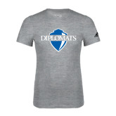 Adidas Sport Grey Logo T Shirt-Diplomats Official Logo