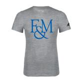 Adidas Sport Grey Logo T Shirt-F&M