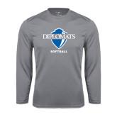 Syntrel Performance Steel Longsleeve Shirt-Softball