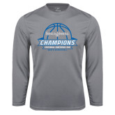 Syntrel Performance Steel Longsleeve Shirt-2016 Centennial Conference Champions Mens Basketball