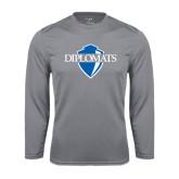 Syntrel Performance Steel Longsleeve Shirt-Diplomats Official Logo