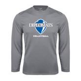 Syntrel Performance Steel Longsleeve Shirt-Volleyball