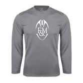 Syntrel Performance Steel Longsleeve Shirt-Tall Football Design
