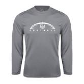 Syntrel Performance Steel Longsleeve Shirt-Flat Football Design