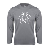 Syntrel Performance Steel Longsleeve Shirt-Logo in Ball