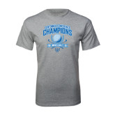 Grey T Shirt-2015 Centennial Conference Golf