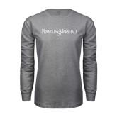 Grey Long Sleeve T Shirt-Franklin & Marshall