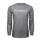 Grey Long Sleeve T Shirt-Franklin & Marshall College