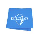 Light Blue Sweatshirt Blanket-Diplomats Official Logo