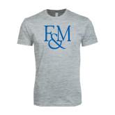 Next Level SoftStyle Heather Grey T Shirt-F&M