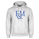 White Fleece Hoodie-F&M