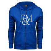 ENZA Ladies Royal Fleece Full Zip Hoodie-F&M