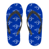 Full Color Flip Flops-Diplomats Official Logo