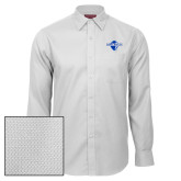 Red House White Diamond Dobby Long Sleeve Shirt-Diplomats Official Logo