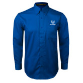 Royal Twill Button Down Long Sleeve-Franklin & Marshall Ice Hockey