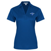 Ladies Royal Performance Fine Jacquard Polo-Diplomats Official Logo