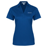 Ladies Royal Performance Fine Jacquard Polo-Diplomats Flat Logo